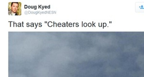 cheaters look up