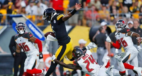 meet f3bd0 175fa The Steelers Should Be Shopping Josh Dobbs if They Aren't ...