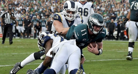 Will Eagles' Carson Wentz alter his aggressive style? Should he?
