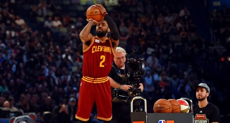online store e1cd9 d7d14 Cleveland Cavaliers: Kyrie Irving Loses to Eric Gordon in ...