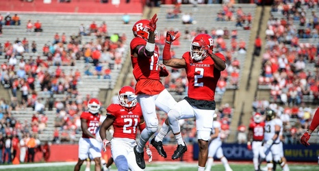 Where did Rutgers rank in attendance nationally and in Big ...