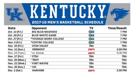Canny image with regard to uk basketball printable schedule