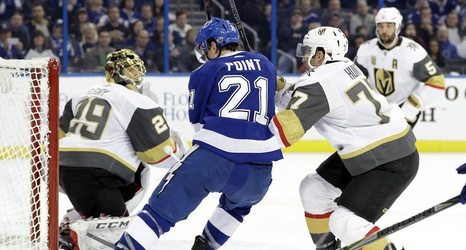 GAME DAY: Golden Knights, Lightning square off on Nevada Day