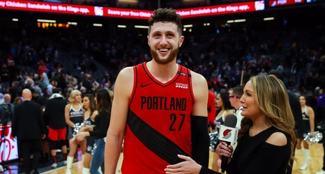 best website 09a4a 3cac6 Jusuf Nurkic Thanks Trail Blazers Fans, Organization
