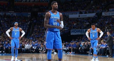 new products 57e5b 97e18 Did Knicks and Pacers win the Melo and PG13 trades with OKC?