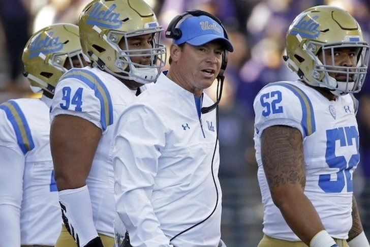 UCLA Fires Football Coach Jim Mora Following Loss Against USC