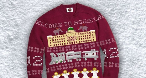 Texas Am Ugly Christmas Sweaters 2017