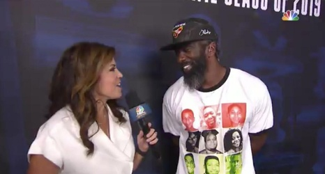 best cheap 9a42f 32164 Ed Reed's Shirt Honoring Slain Black Victims Is Highlight of ...