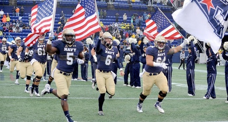 College Roundup Navy Football Team Receives Votes In Top 25 Polls