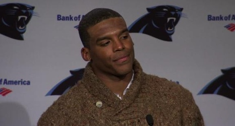 newest c30dd 89f5b Cam Newton questions coaches after loss (Video)