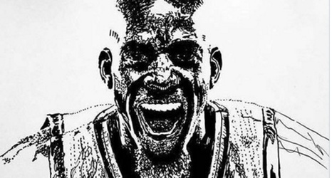 Check Out This Amazing Drawing Of Kevin Garnett