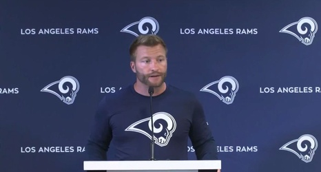Image result for sean mcvay press conference