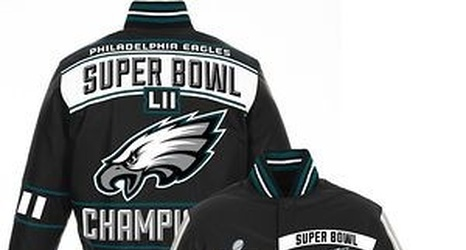 cheap for discount 4f5ae 9e159 Philadelphia Eagles players show off their new Super Bowl rings