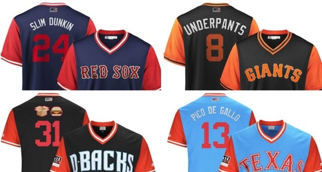 8031b135 The Best MLB 'Players Weekend' Jersey Nicknames