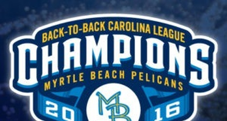 Cubs Down On The Farm Report Myrtle Beach Pelicans 2016 Carolina League Champions