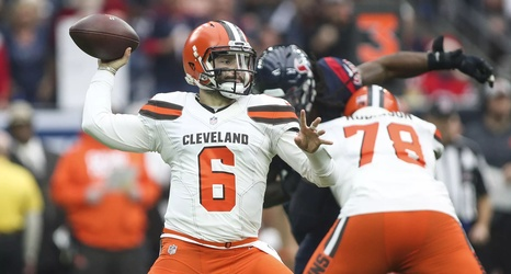 f4391c310d2 Baker Mayfield on board with new Browns uniforms