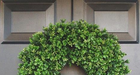 do it yourself front door wreaths
