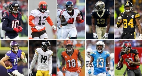 wholesale dealer 3ca1a ec8e2 The NFL's Top 10 Wide Receivers for 2019 | The MMQB NFL Podcast