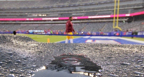 Eagles-Giants weather forecast: Will rain from Hurricane