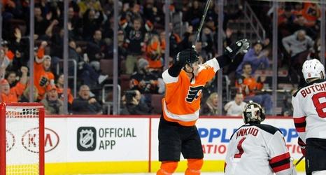 outlet store 73288 c631d New Jersey Devils vs. Philadelphia Flyers: LIVE score ...