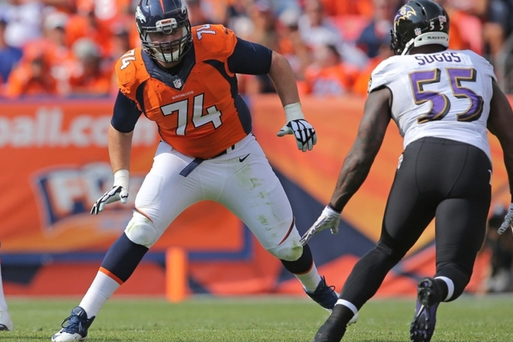 Broncos trade OL Ty Sambrailo to Falcons for conditional 5th-round pick