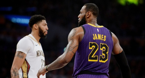664ee3a97 LeBron James Reacts To Anthony Davis  Request To Pelicans At Trade Deadline