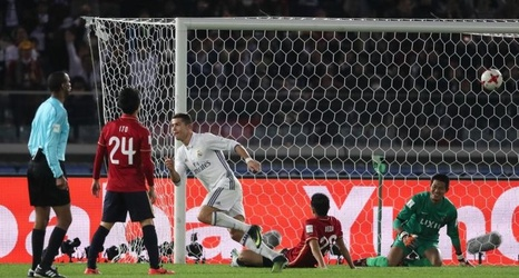 Real Madrid Vs Kashima Antlers Ronaldo Scores A Hat Trick To Win