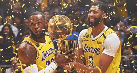 Please allow me to throw up: Lakers to be named NBA Champs if season never  resumes according to league bylaw