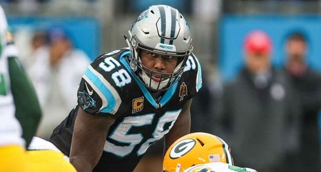 newest eb7c0 36d16 Chargers want Thomas Davis' leadership as well as his game
