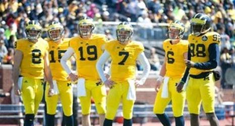 Ultimate Michigan Football Roster Quarterbacks