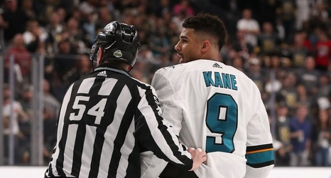 NHL suspends Sharks' Evander Kane for one game