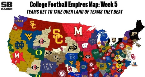 No new territory for Kentucky in CFB Empires Map