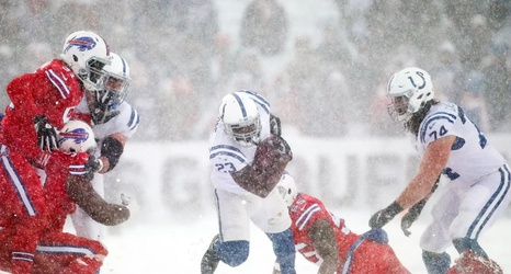 Colts Week 14 Snap Counts Vs Bills Snow Storm Calls For Blue Collar Day