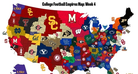 Kentucky is taking over SB Nation\'s College Football Empires Map