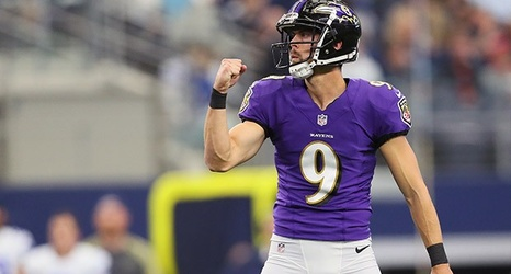 Justin Tucker Takes Over Nfl S Longest Kicking Streak Has Never Missed Extra Point