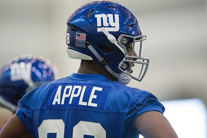 Giants Waive Week 1 Starter Paul Perkins