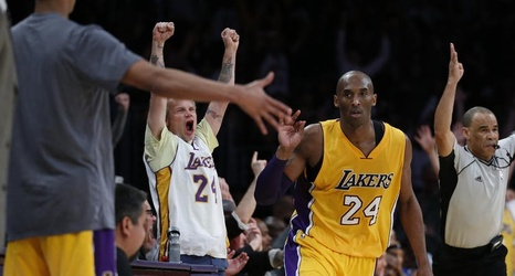25ede1f7fb4 Red Hot Chili Peppers bassist (and Lakers fan) Flea sees a kindred spirit  in Kobe Bryant