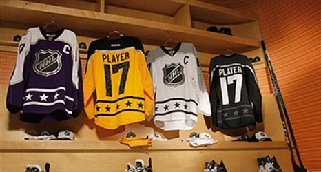 NHL All-Star Game jerseys pay tribute to the Kings. LA Times  afd0774f5f9