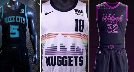 brand new 48bf8 8cf44 Ranking the NBA's Newly-Released 'City Edition' Jerseys