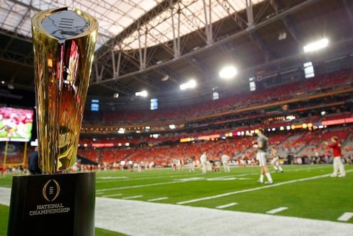 College Football Playoff announces title game sites for 2021 through 2024