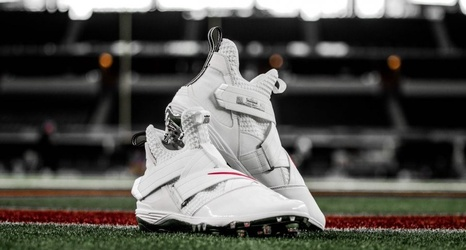 Ohio State to Wear White LeBron Soldier XII Cleats With Tradition Road  Uniform 6c52f59d4