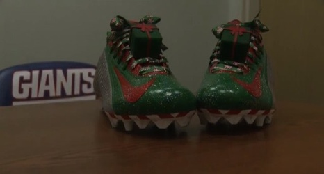 New York Giants Show off Odell Beckham Jr.\'s Wild Christmas-Themed ...