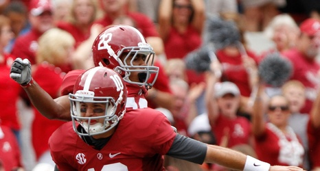 cdfd24947 Alabama Football  Oakland Raiders have traded for former Bama QB AJ McCarron