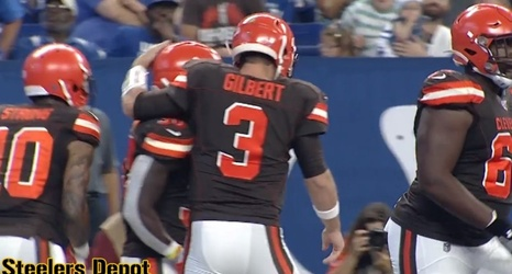 Former Aaf Apollos Qb Garrett Gilbert Impressing With Browns Vying For Backup Job