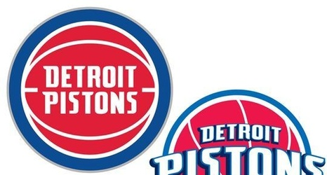 Pistons Revamped Dope Logo Mixes Old And New