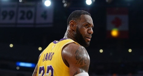 size 40 1920a 77191 2019-20 Lakers Jersey Numbers: LeBron James, Anthony Davis ...