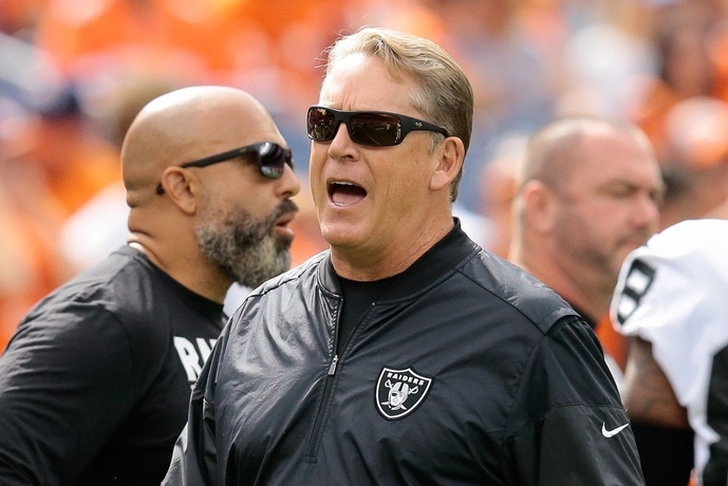 Raiders fire coach Jack Del Rio after 6-10 season