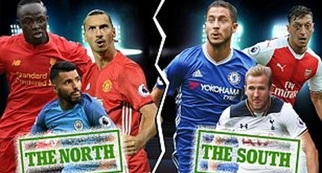 Premier League all-star North XI v South XI: The best of Manchester