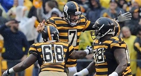 steelers bumblebee jersey