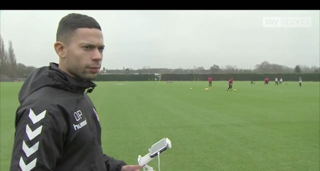 charlton athletic coach innovates drone usage in soccer training